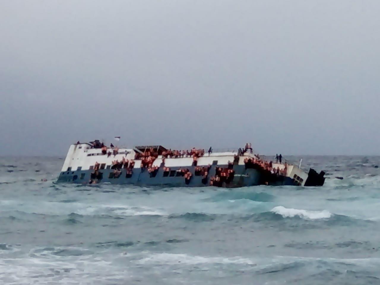 Gambar Kapal KM Lestari Maju Tenggelam, Dikabarkan 4 Meninggal Dunia