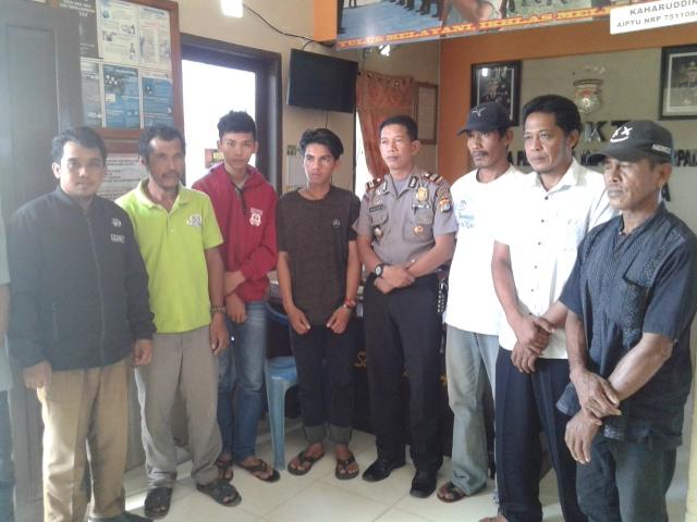 Gambar Polisi Damaikan Kasus Penganiayaan di Sampaga