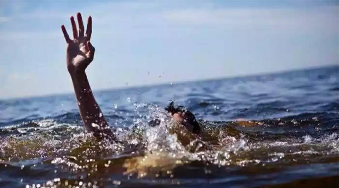 Gambar Seorang Warga Hilang Terseret Arus Sungai Sanjango, Mateng