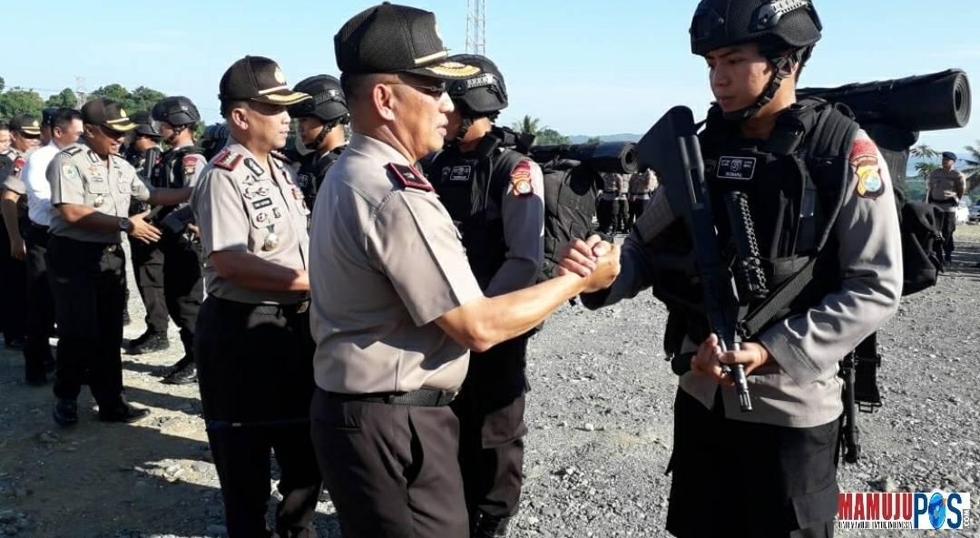 Gambar Salut… BKO Brimob Polda Sulbar Turut Andil dalam Pengamanan Asian Games