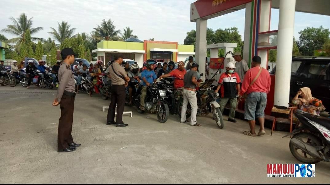 Gambar Cegah Penyalahgunaan BBM, Polisi Awasi Distribusi di SPBU Bunde