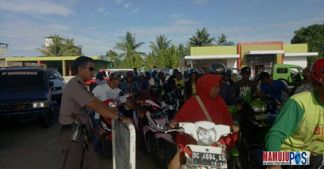 Gambar Cegah Pengisian Jeriken, Polisi Tingkatkan Pengawasan di SPBU Bunde