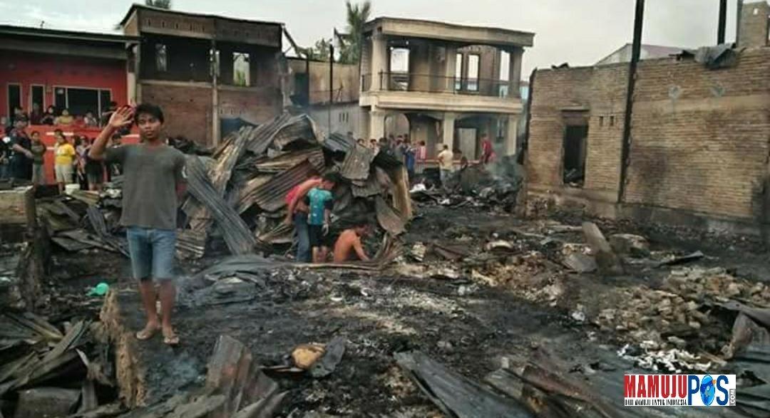 Dikabarkan, 17 KK Kehilangan Tempat Tinggal