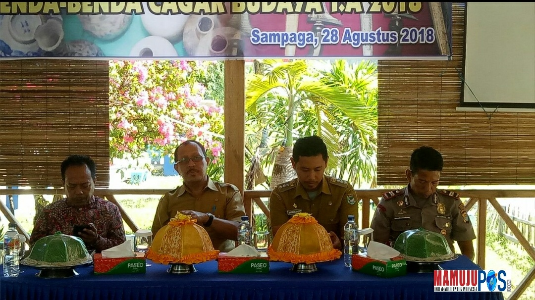 Gambar Sosialisasi Cagar Budaya di Sampaga