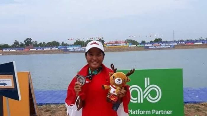Gambar AG 2018: Atlet Dayung Asal Mamuju Sumbang Medali Perak