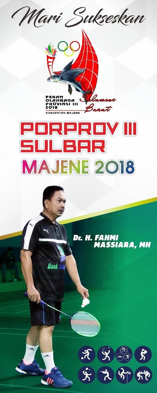 Gambar Fahmi Massiara : Majene Sangat Siap Helat Porprov III