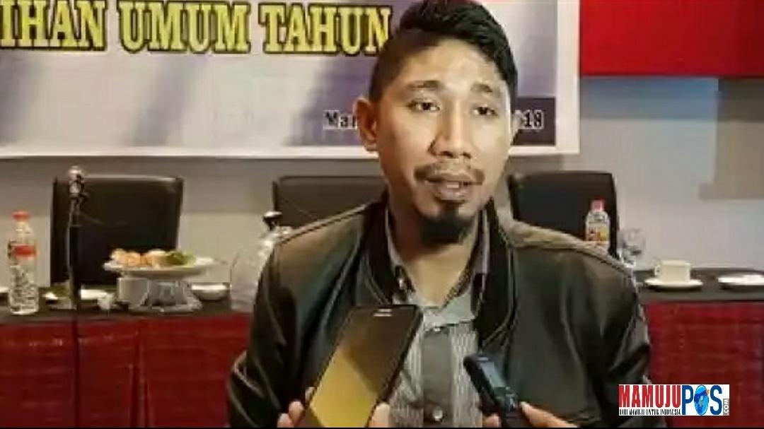 Ketua KPU Mamuju, Hamdan Dangkang