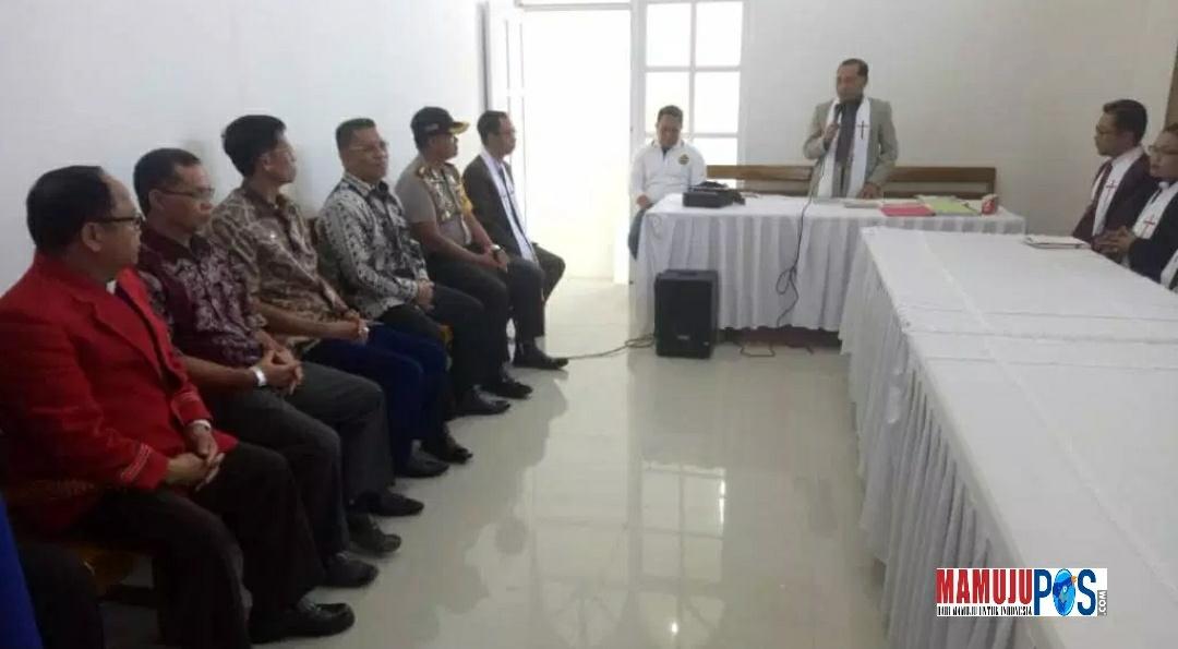 Gambar Kunjungan Silaturahmi Kapolda Sulbar ke Gereja Toraja Mamasa