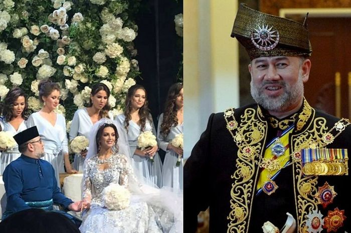 img Raja Malaysia Turun Tahta. Benarkah Demi Cinta?