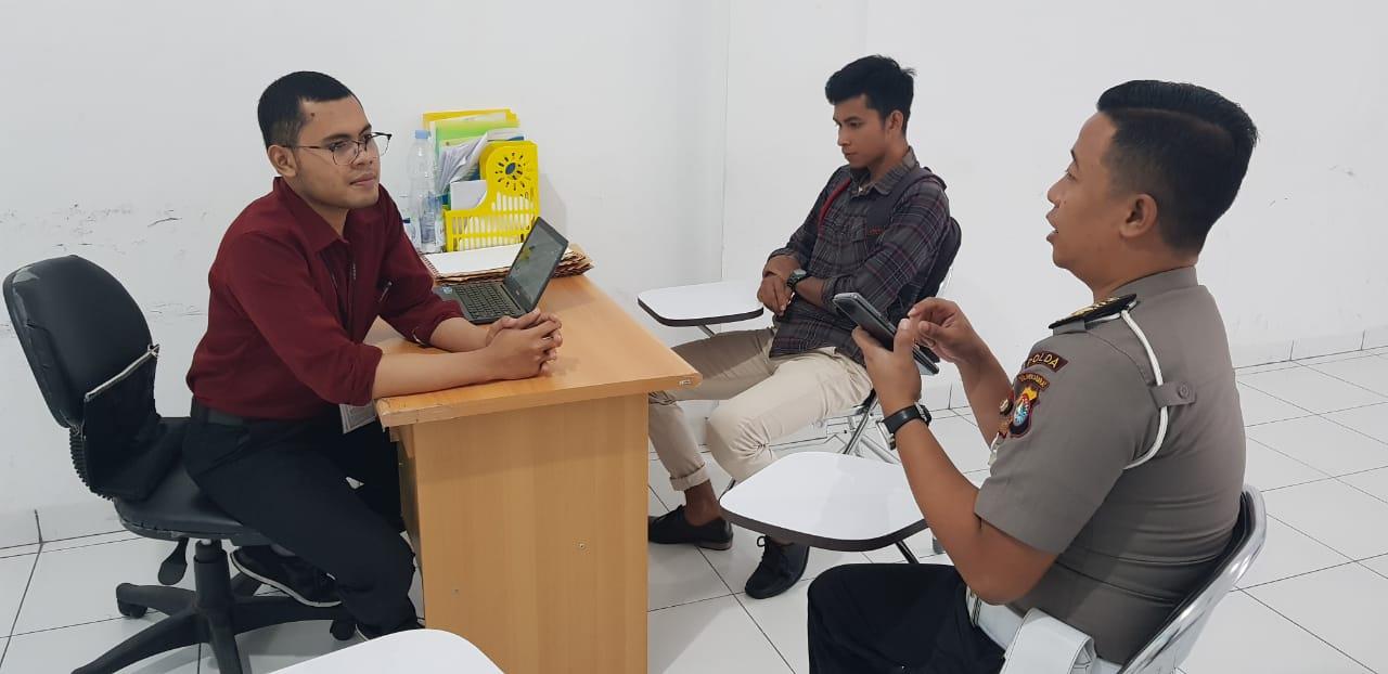 Gambar Ajak Meriahkan MRSF 2019, Ditlantas Polda Sulbar Koordinasi Pihak Oppo
