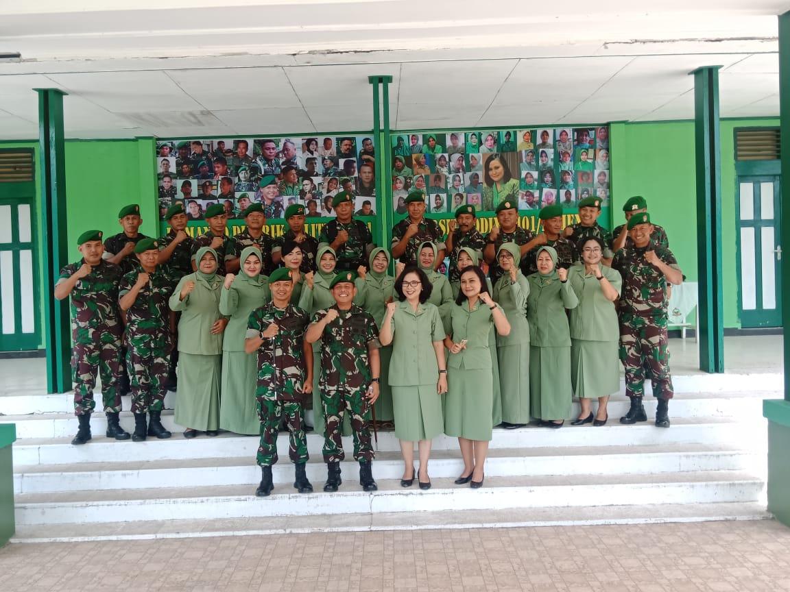 Gambar Danrem 142 Mengimbau Agar TNI Jaga Netralitas dalam Pemilu