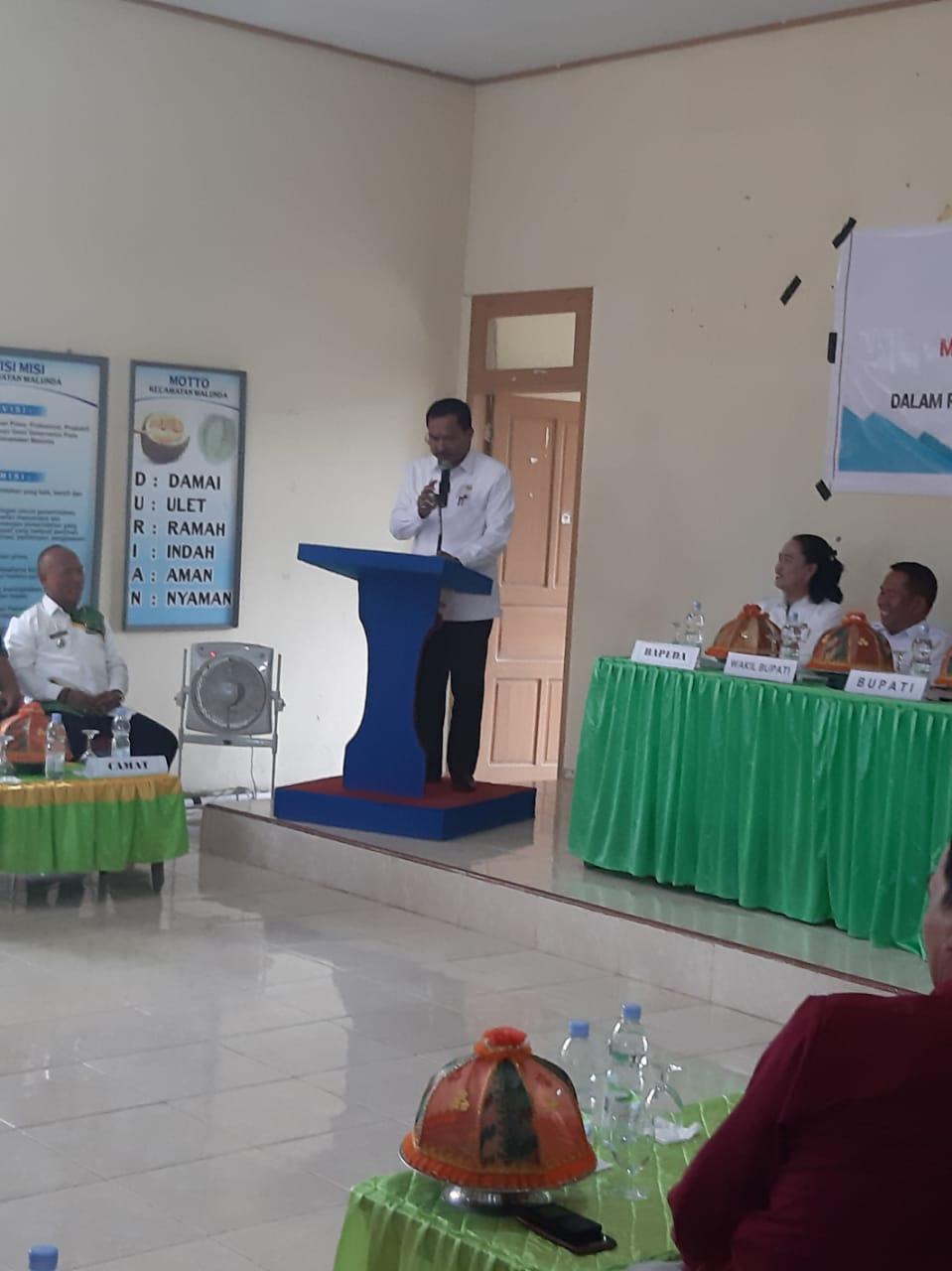 Gambar Ini yang Dikatakan Bupati Majene Saat Menghadiri Pembukaan Musrembang di Malunda