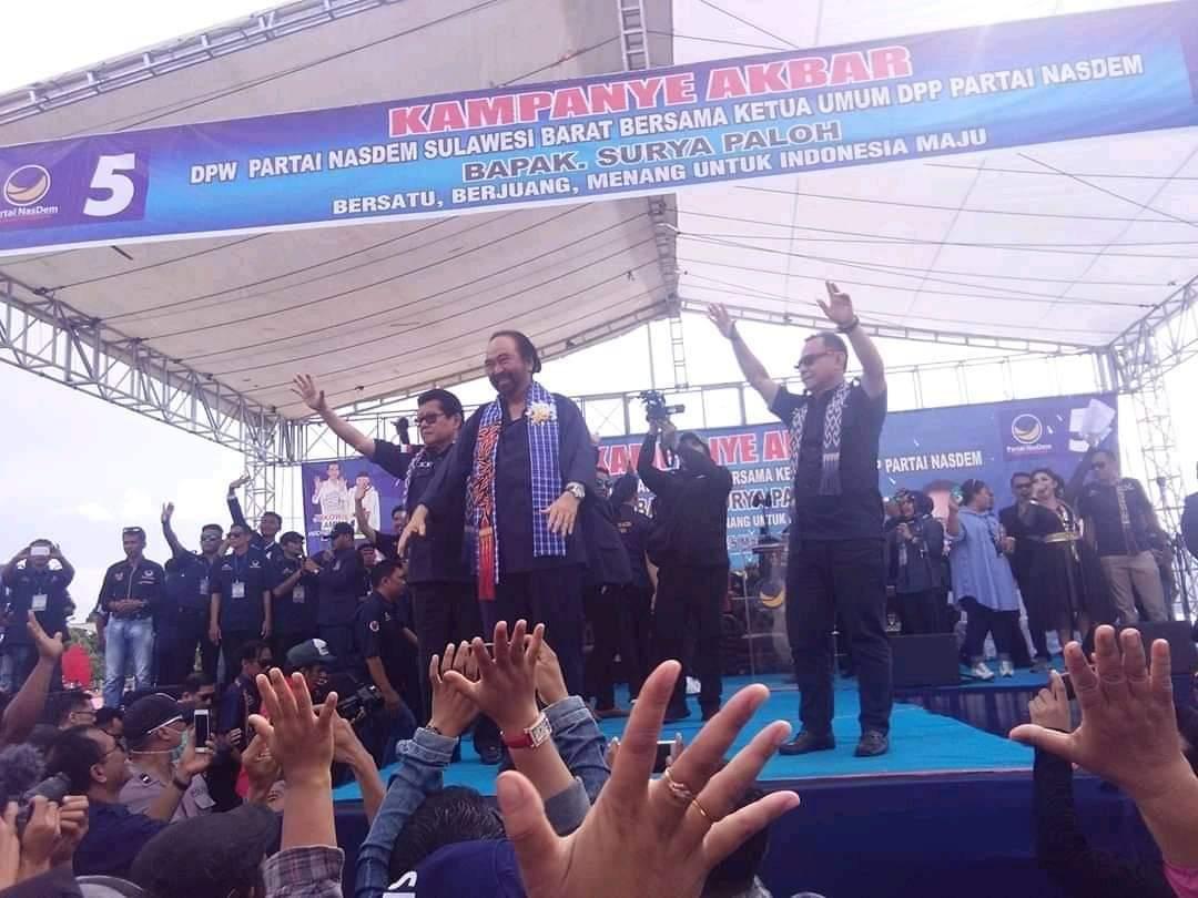 img Surya Paloh Harap NasDem di Sulbar Bisa Memenangkan Jokowi-Ma'ruf