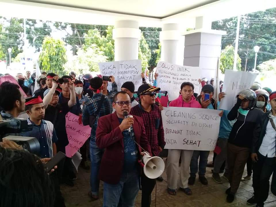 img Aksi Perawat Sukarela di Polman Berujung Mogok Kerja