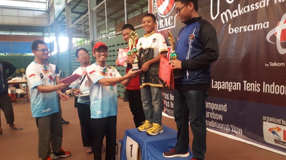 Gambar RAC Mamuju Boyong 7 Medali Emas di Kejurnas Panah Makassar