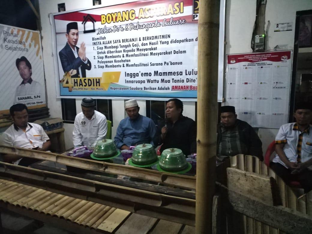 img Dihadiri Bawaslu, Sosialisasi PKS di Rangas Ditengarai Kampanye