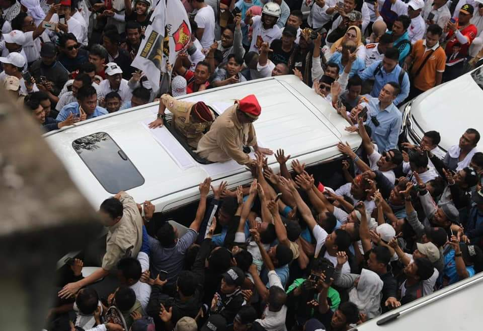 Hari Kedua Kampanye, Prabowo ke Papua, Sandiaga di Jakarta