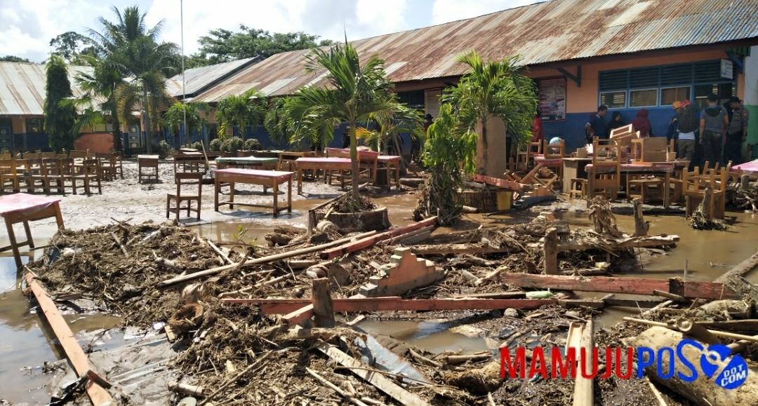 Berikut Data Kerusakan Pasca Banjir Bandang di Mamuju