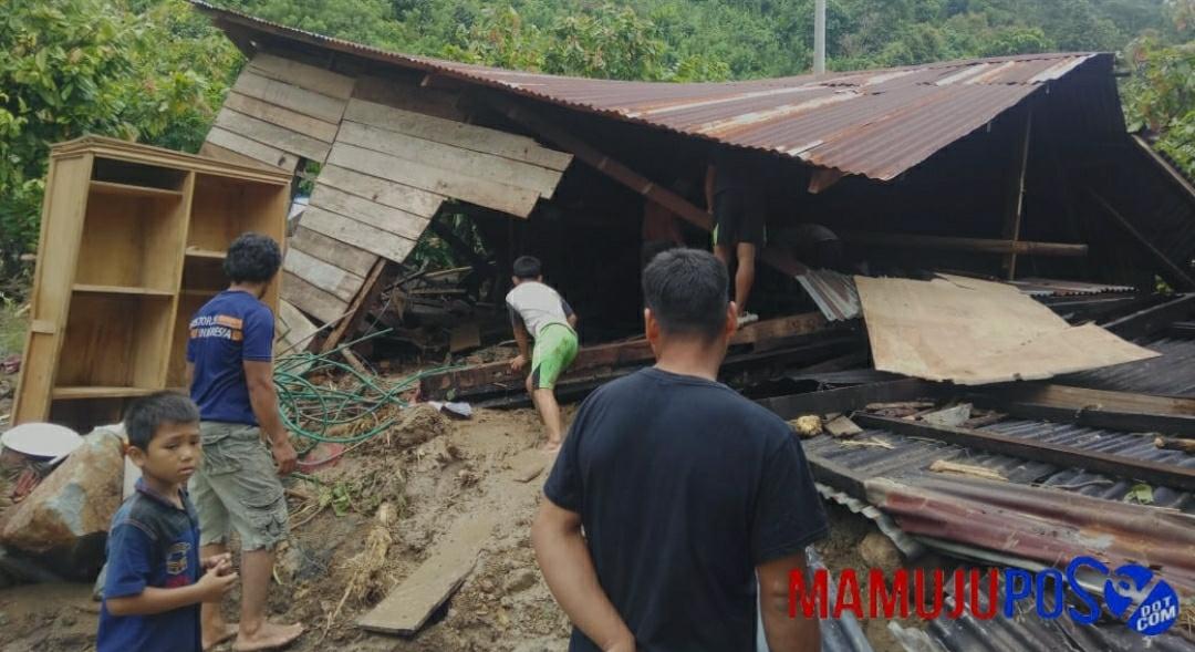 Banjir di Kalukku, Warga: Rumah Saya Rata dengan Tanah