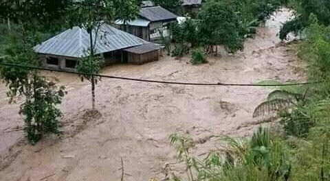 Banjir Landa Mamasa, Puluhan Rumah Terseret