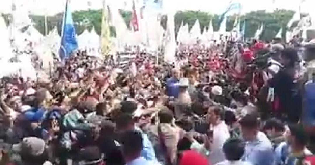 Gambar Kampanye Akbar, Prabowo Minta Pendukung Tak Hina Orang Lain