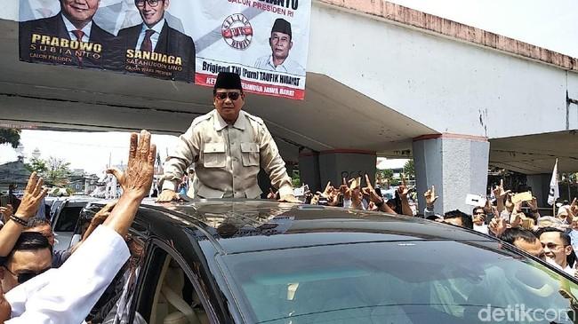 Kampanye Akbar Prabowo Akan Diawali di Makassar