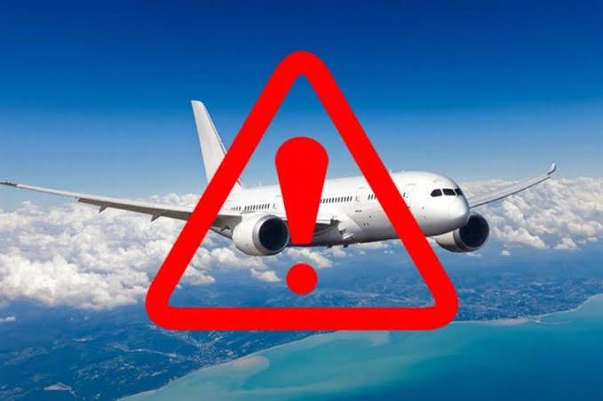 Gambar Diduga Ledakan di Passarang Akibat Pesawat Jatuh