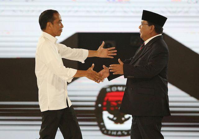 Jokowi ke Prabowo, Rantai Persahabatan Kita Tidak Pernah Putus
