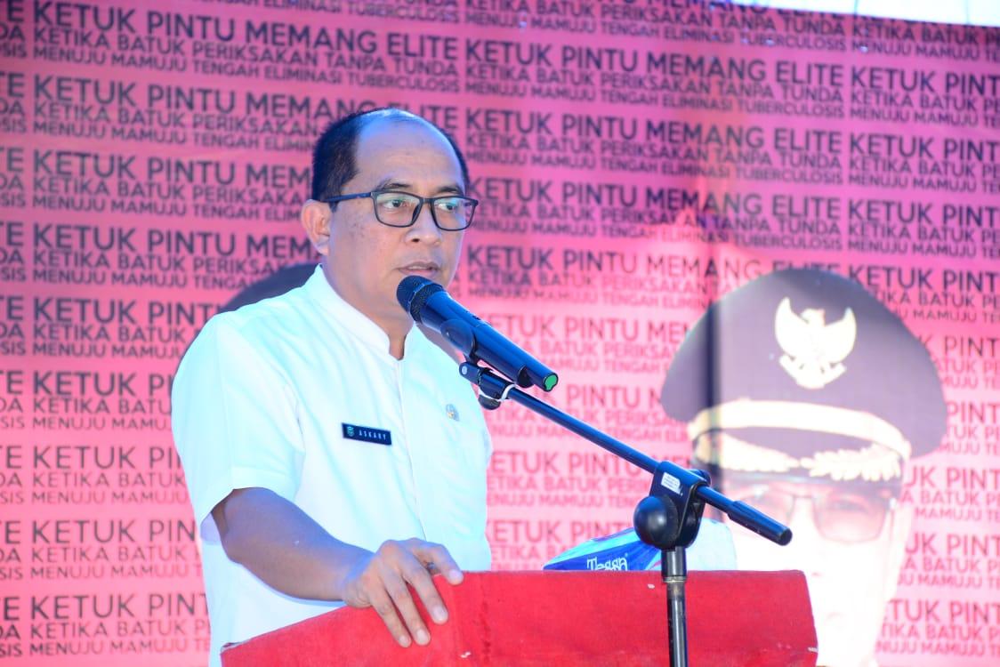 Pemda Mateng Launching Gerakan Ketuk Pintu TBC
