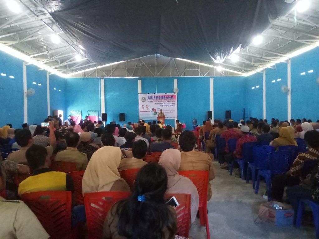 Bupati Mateng Hadiri Musrembang Kecamatan di Pangale