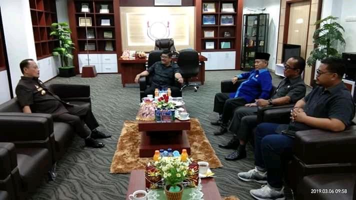 Bupati Mateng Terima Kunjungan Wakil Ketua Komisi V DPR RI
