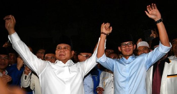 img Rekapitulasi Perolehan Suara di Banda Aceh Rampung, Prabowo-Sandiaga Menang Telak