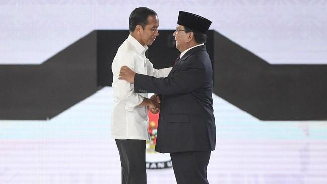 Jokowi dan Prabowo (foto Antara)