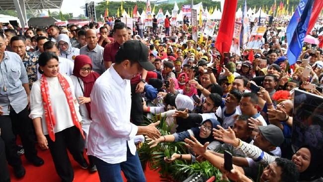 Indo Barometer Prediksi Jokowi Menang 61,3 Persen