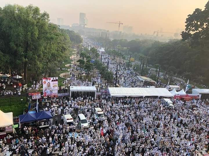 Prabowo: Ini Kampanye Akbar Terbesar dalam Sejarah