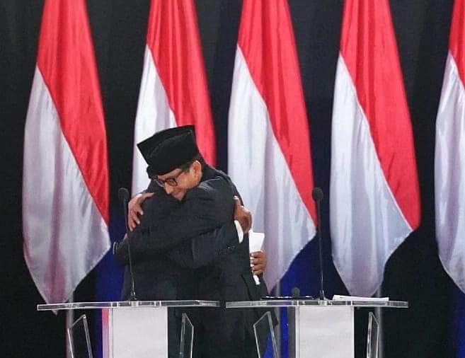 Gambar Elektabilitas Prabowo-Sandi Kalahkan Jokowi-Ma'ruf