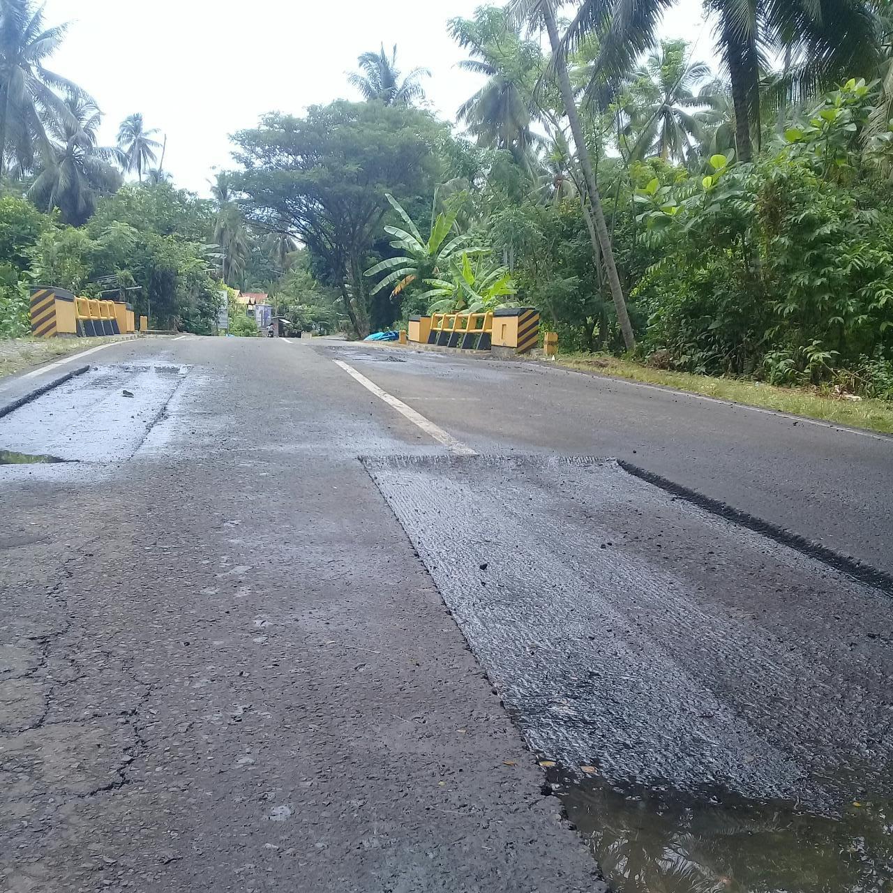 Gambar Pemeliharaan Jalan Nasional di Malunda Disoal Warga