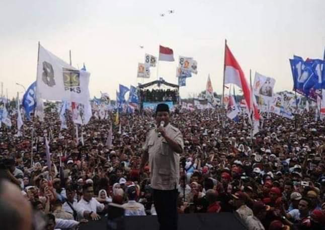 Gambar Prabowo: Banyak Media Kerjanya Bohongi Rakyat!