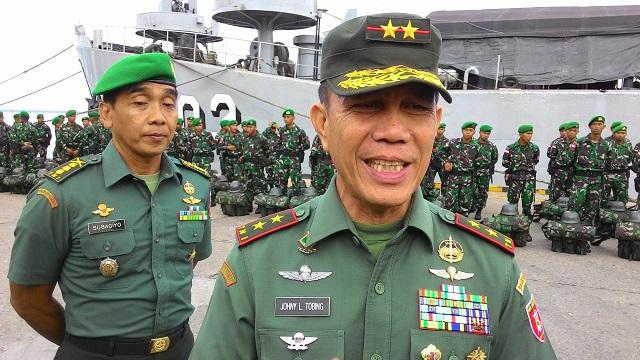 """Gambar Johny L Tobing: """"Seorang Jenderal Tidak Boleh Ngomong Pertahanan Kita Lemah!"""""""