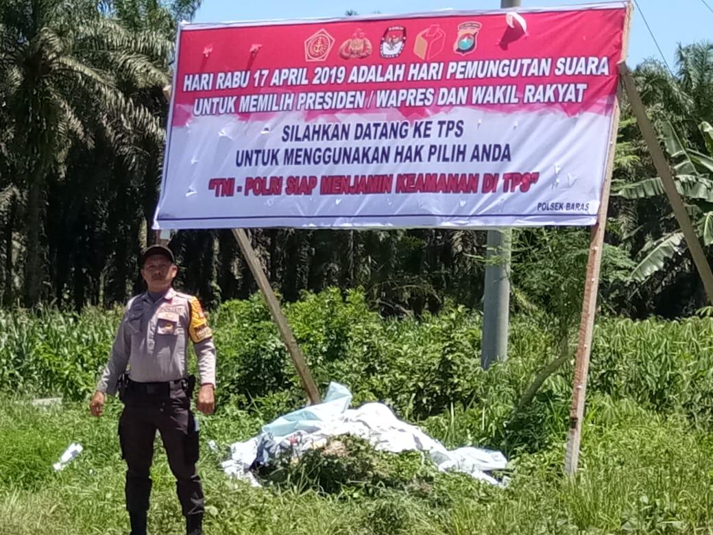 Gambar Jelang Pemilu 2019, Polres Matra Ajak Warga Tak Golput