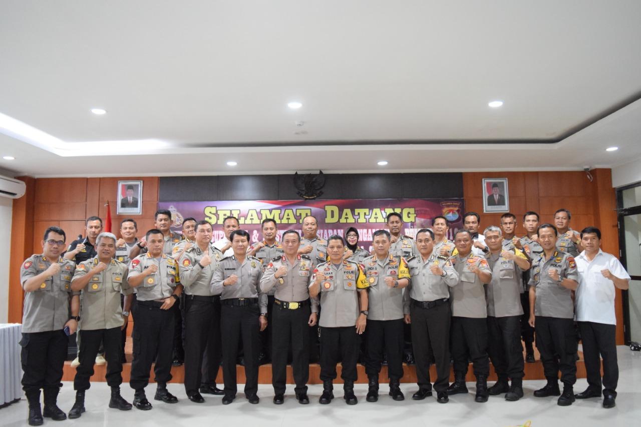 Gambar Cek Kesiapan Pengamanan Pemilu, Tim Supervisi dan Asistensi Polri Berkunjung ke Polda Sulbar