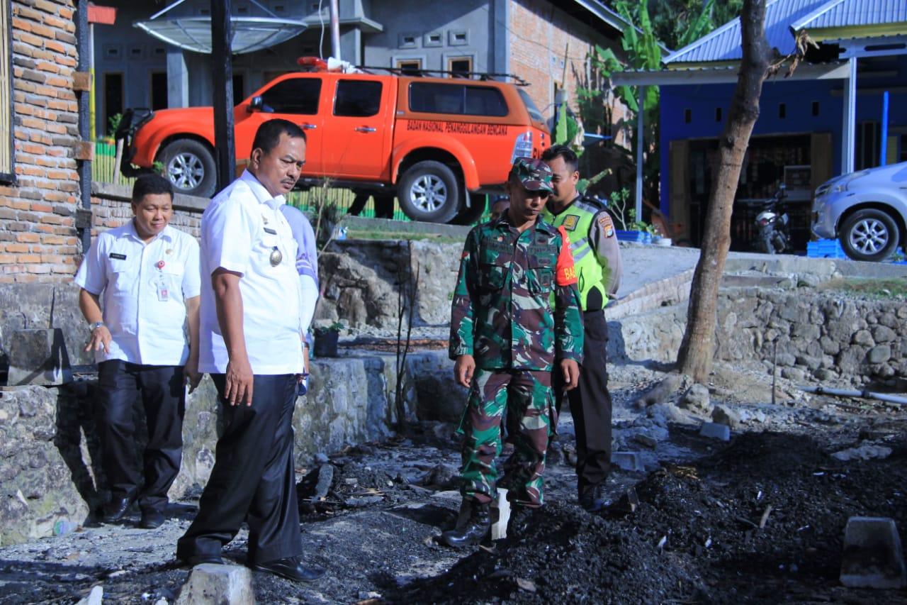 Gambar Peduli Korban Bencana, Fahmi Massiara Lakukan Ini