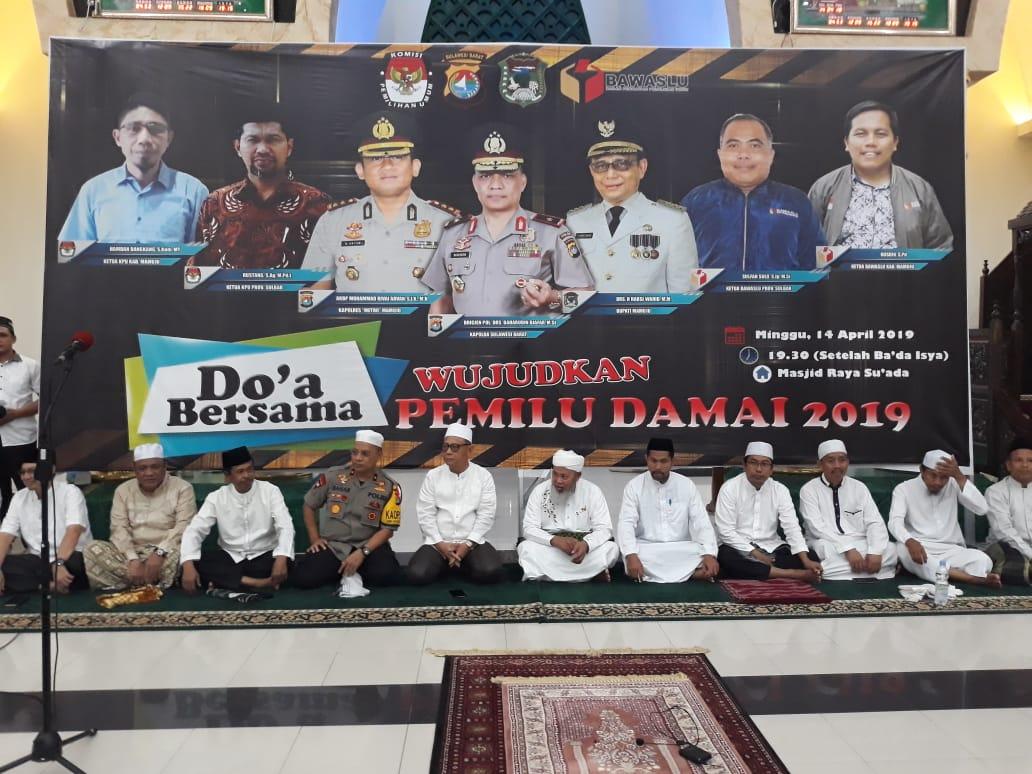 Gambar Wujudkan Pemilu Damai Melalui Doa Bersama