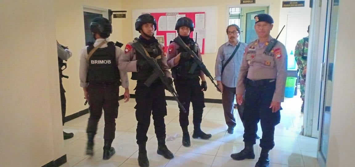 Jelang Pemilu 2019, Polres Matra Bersama TNI Gelar Patroli