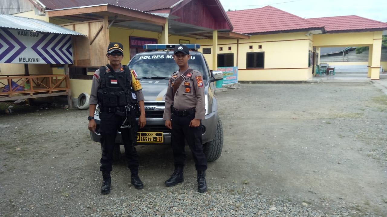 Kondisi Sementara Pencoblosan di Kecamatan Karossa Terpantau Aman