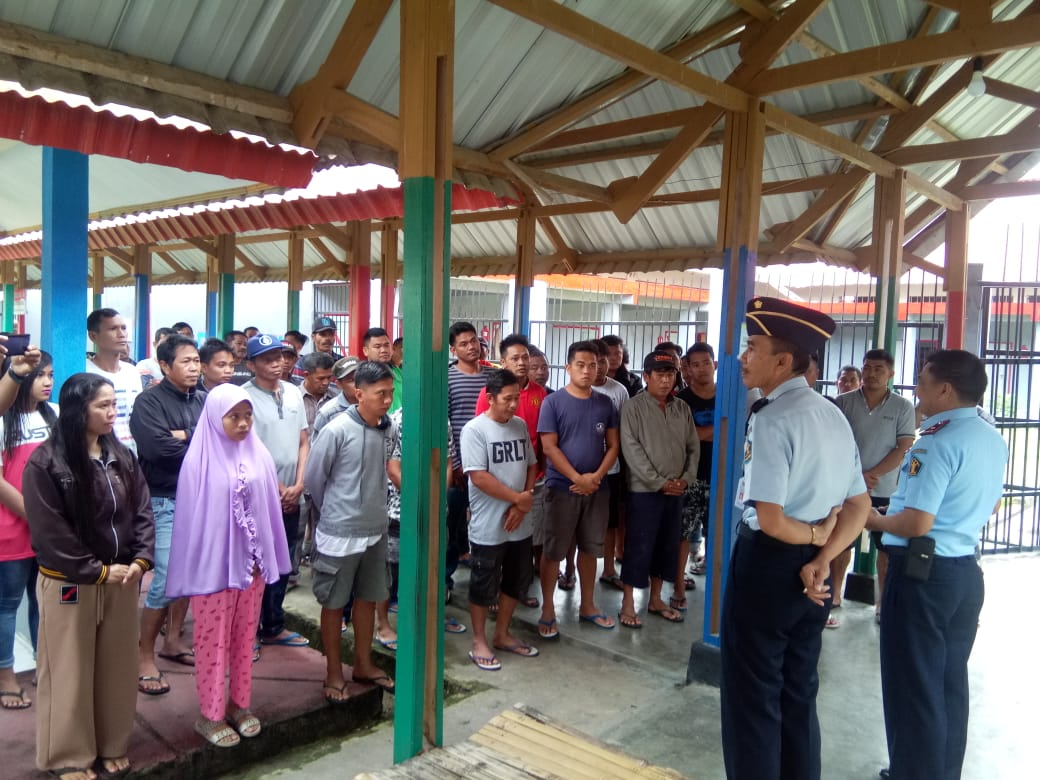 Kemenkumham Sulbar Evaluasi Keamananan di Rutan Mamasa