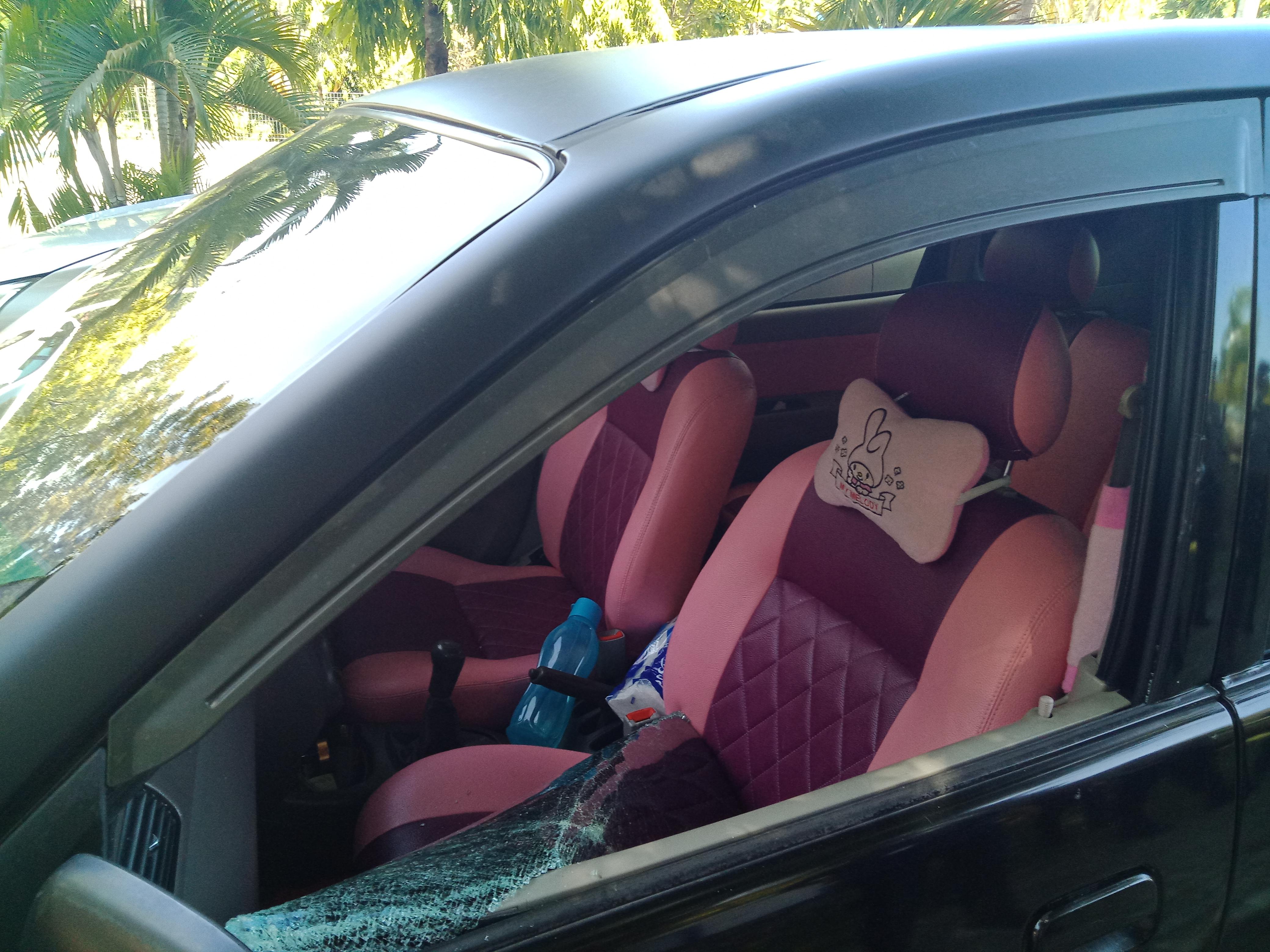 Gambar Pecahkan Kaca Mobil, Pencuri Sikat Uang Rp 11 Juta, Laptop dan Handpone di Mamuju