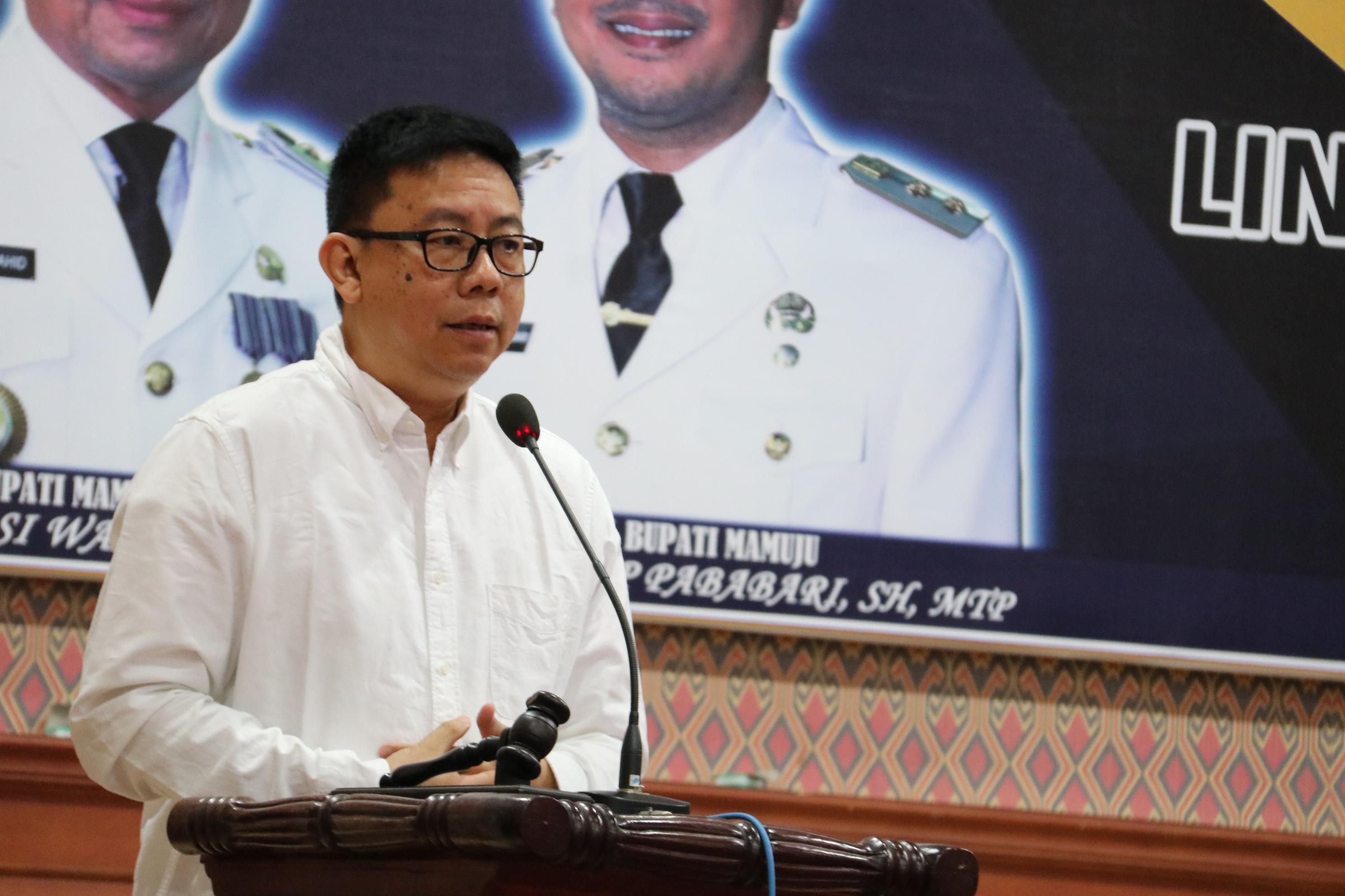 Ketua Dewan Pers Hadir di Mamuju,Warning yang Abal-abal