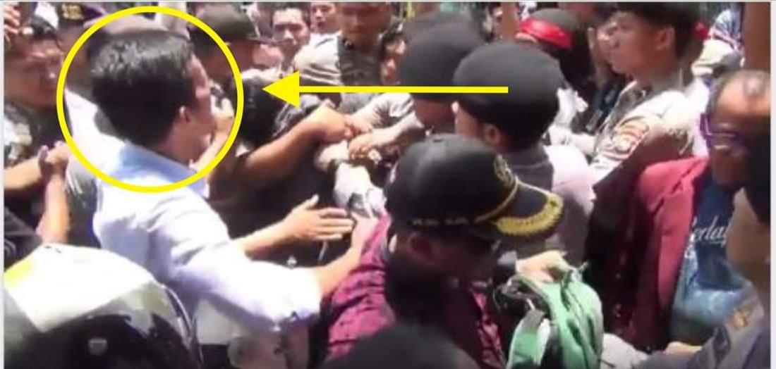 Gambar Video, Insiden di Aksi Demo Perawat, Kapolres Polman: Sudah Sesuai Protap