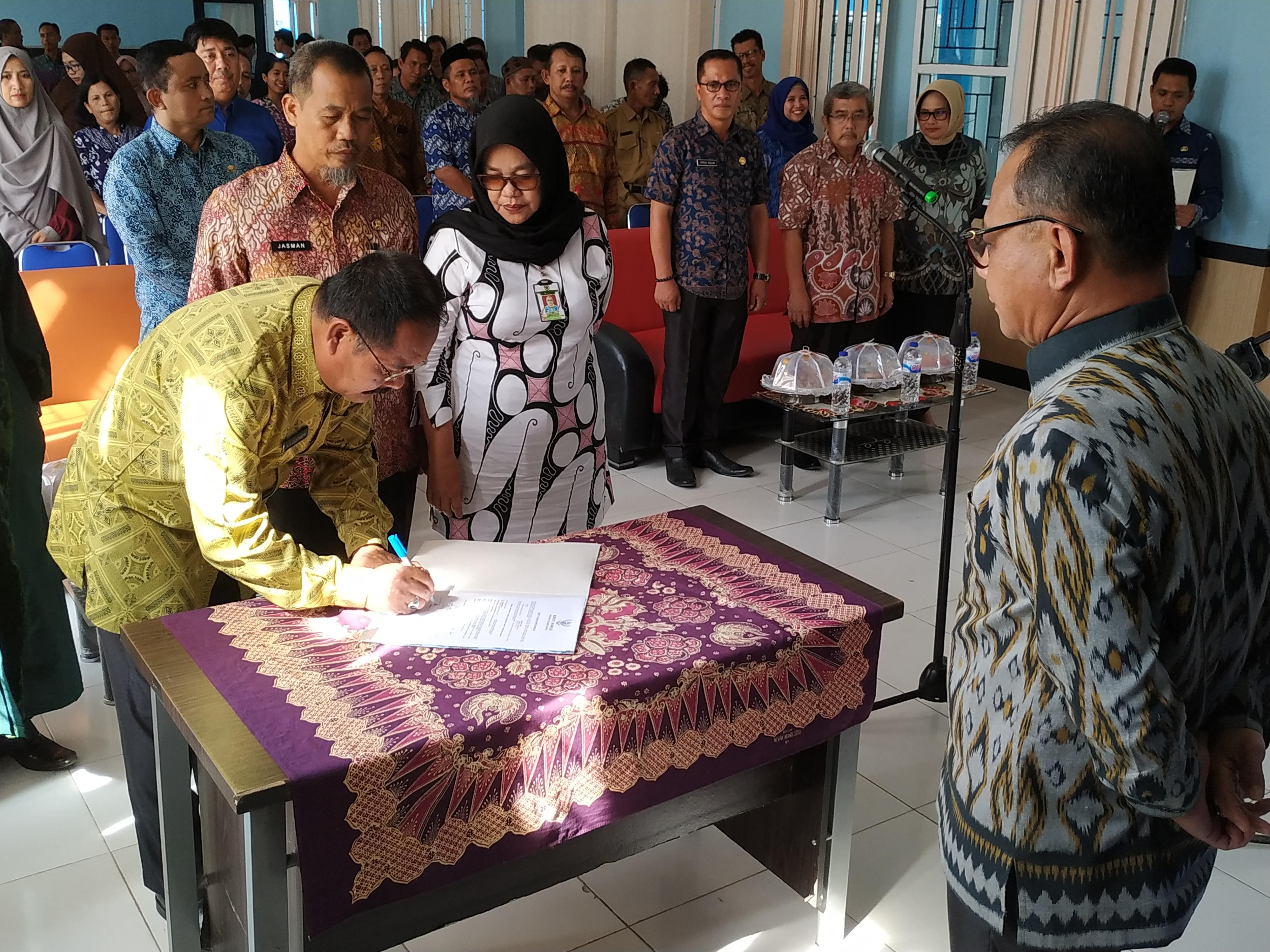 Kepala Puskesmas Binanga Berganti, Habsi: Ini Penyegaran